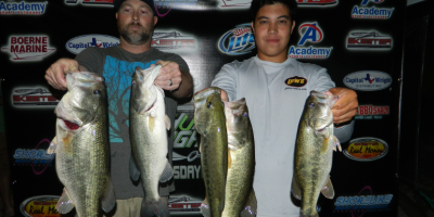 TOUGH CONDITIONS DONT SLOW MARCUS QUALLS AND JUSTIN WOJCIK AS THEY GET THE WIN ON LAKE DUNLAP
