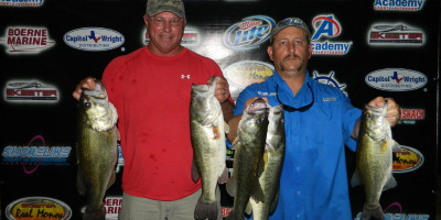 CHRIS SNYDER AND BRETT SMITH GET THE WIN ON DUNLAP WITH 19.72LBS