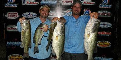 DAVID WENCIL AND STEVE FORSYTH TOP 31 TEAMS ON LAKE DUNLAP