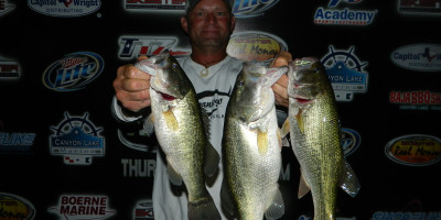 CHARLES WHITED AND TERRY OLDHAM WIN ON A TOUGH CANYON LAKE