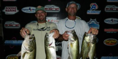 CHARLES WHITED & BILL POLKINGHORN WEIGHIN 17.29LBS TO REPEAT AND TOP 30 TEAMS ON CANYON