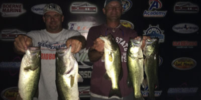 WHITED & POLKINGHORN KEEP IT GOING TOPPING 32 TEAMS ON CANYON LAKE