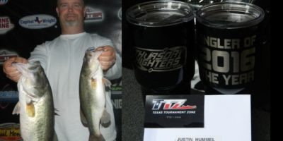 JUSTIN HUMMEL IS YOUR 2016 THURSDAY NIGHTERS ANGLER OF THE YEAR