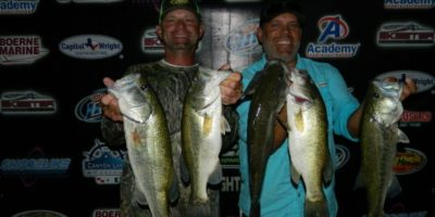 CHARLES WHITED AND RYAN LACKEY TOP 43 TEAMS ON CANYON WITH 15.78 POUNDS