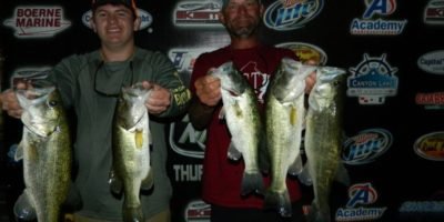 CHARLES WHITED & TY BRUMLEY TOP 50 TEAMS ON A WINDY CANYON WITH 13.17 POUNDS