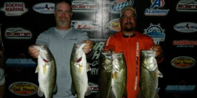 JUSTIN HUMMEL & LEONARD DEBRASKA TOP 52 TEAMS WITH 16.07 POUNDS AND TAKE HOME $830 PLUS $500 IN SKEETER REAL MONEY