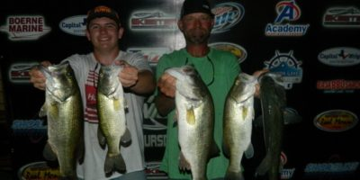 CHARLES WHITED & TY BRUMLEY WIN AGAIN TOPPING 61 TEAMS ON CANYON AND TAKE HOME OVER $1250