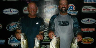 THOMAS HOWE & PHILLIP THOMPSON TOP 50 TEAMS ON CANYON WITH 12.62LBS TO WIN OVER $1000