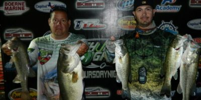 JASON OLIVO & JOEY RODRIGUEZ TOP 58 TEAMS ON CANYON LAKE AND WIN $1200