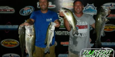 CHRIS & BILLY NEWBERG TOP 105 ANGLERS  WITH 13.37 POUNDS AND TAKE HOME $1160