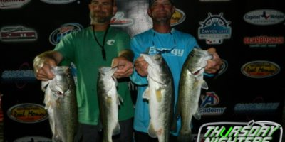 CHARLES WHITED & TREY GROCE TOP 49 TEAMS ON CANYON WITH 13.53 LBS