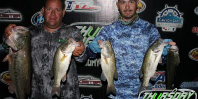 JASON OLIVO & JOEY RODRIGUEZ TAKE HOME OVER A GRAND ON CANYON WITH FIRST AND BIG BASS