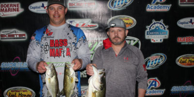 ANTHONY SKOUBY & JASON WILLIAMS TOP 58 TEAMS AND TAKE HOME $1200 FROM A TOUGH CANYON LAKE