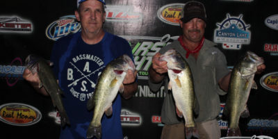 STEVE VANCE & DONNIE MARSHALL BEAT THE WIND AND 83 ANGLERS ON CANYON FOR THEIR FIRST THURSDAY NIGHTERS WIN