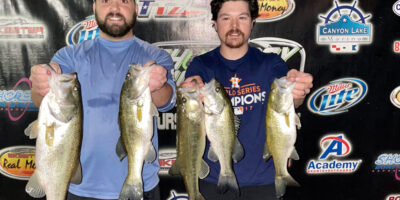CODY HORN & KEVIN FITZGERALD WIN ON CANYON WITH 11.36lbs