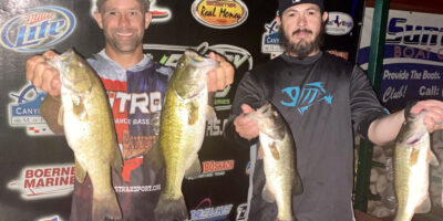 JASON OLIVIO & JOEY RODRIGUEZ GET ANOTHER WIN WITH 11.39LBS TOPPING 72 ANGLERS ON CANYON