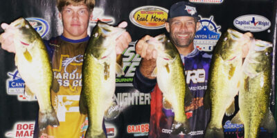 BRINTON HASKINS & KEEGAN CLEMENT BEAT THE STORMS AND 38 ANGLERS ON CANYON